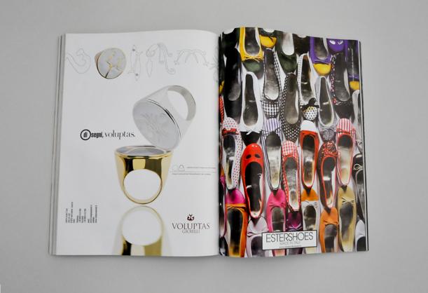 Vogue Accessoritaly Vogue Pelle  Sara Massah  Editorial Design